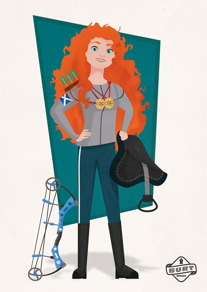 Merida: Two-Time Olympian (Archery And Equestrian)