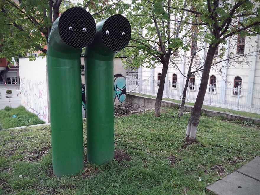 I Bring Bulgarian Streets To Life By Putting Googly Eyes On Random Objects (New Pics) 20
