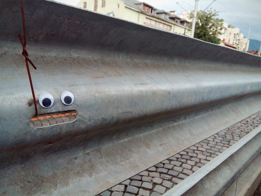 I Bring Bulgarian Streets To Life By Putting Googly Eyes On Random Objects (New Pics) 15
