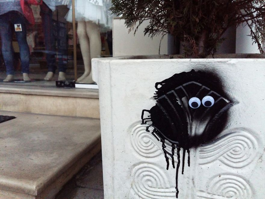 I Bring Bulgarian Streets To Life By Putting Googly Eyes On Random Objects (New Pics) 32