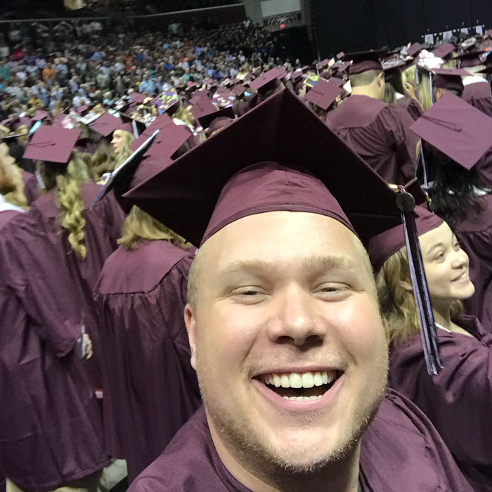 This Guy Proved That You Can Go To The Graduation Ceremony Without Even Attending College