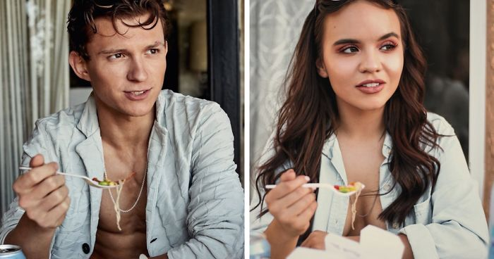 Fan Recreated Tom Holland's Photoshoot To Get His Attention