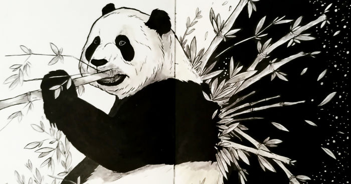 I Combine Animals, People, And The Night Sky To Create Magical Illustrations (26 Pics)
