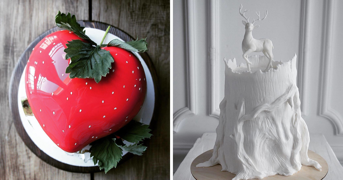 20+ Stunning Cakes By Russian Chef That Will Blow You Away