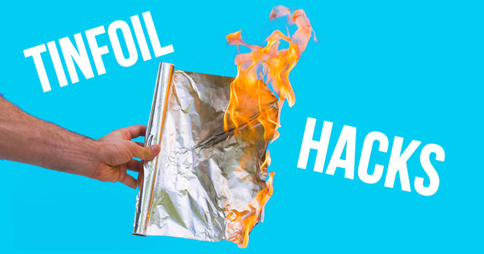 Get A Ph d In Aluminum Foil Hacks After Watching These 27 Foil And