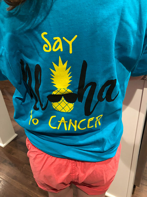 Say Aloha To Cancer. Wait, Doesn't Aloha Mean Hello Too?