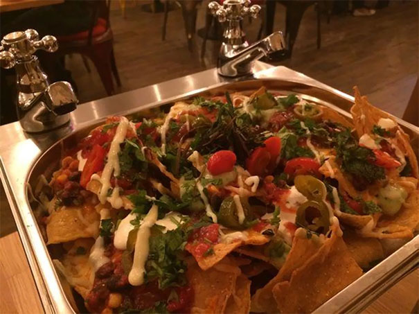 Nachos On Tap...