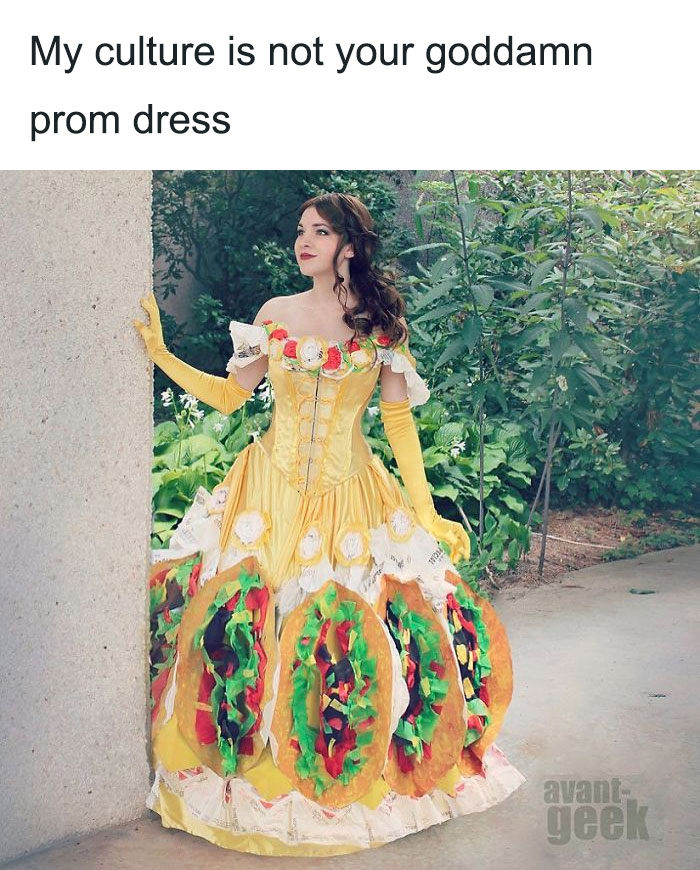 "0ad631c776e 20 Of The Most Epic Reactions To My Culture Is Not Your Goddamn Prom Dress""  Drama"""