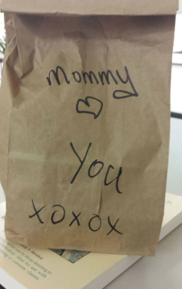 My Mom Packed My Lunch For Me Today For Work. I'm Almost 20-Years-Old