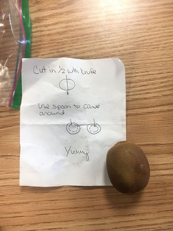 I Am 18 Years Old And My Mother Gave Me Instructions On How To Cut A Kiwi