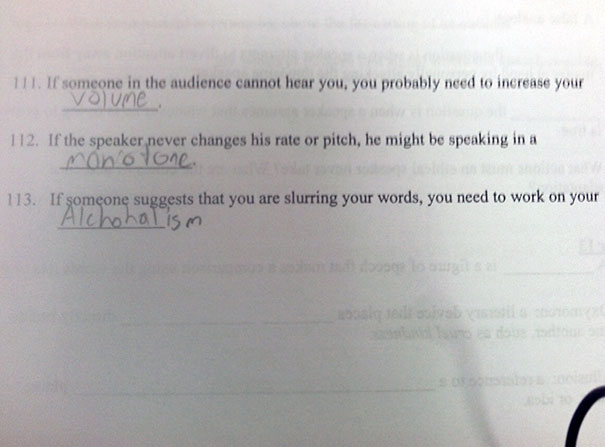My Dad Just Texted Me This. Student Submitted This For His Final