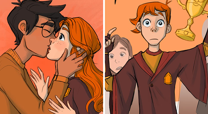 7 Powerful Harry Potter Scenes That Did Not Make It To The Movies Finally Come To Life Thanks To This Illustrator