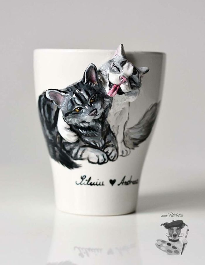 I Create Custom 3d Pets On Mugs | Handmade
