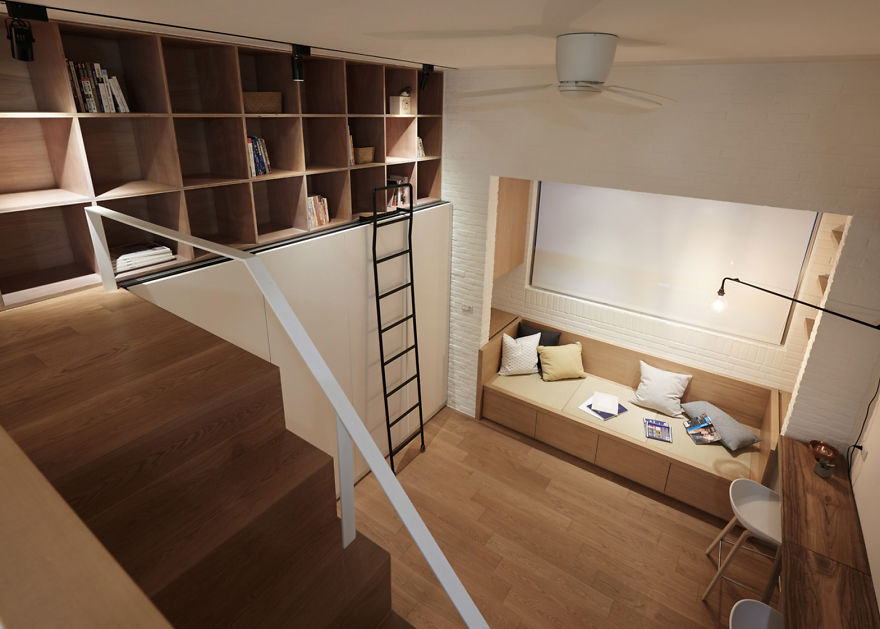 People Can T Believe This Apartment Is Only 22 Square Meters 236 Sq Ft After Seeing These Pics Bored Panda