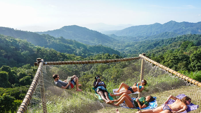 You Need To See These Gigantic Hammocks In Colombia