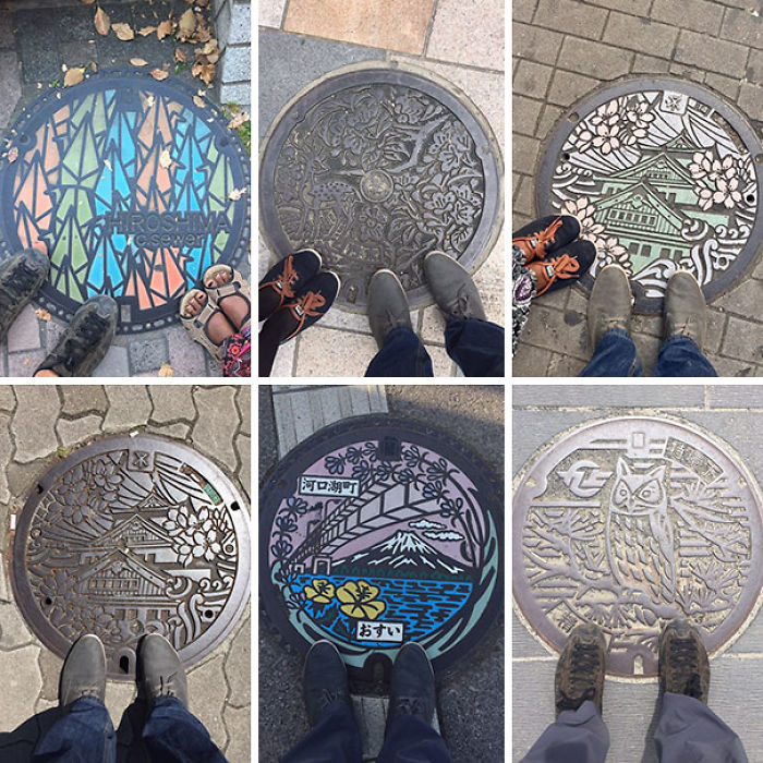 Japan's Manhole Covers Are Beautiful