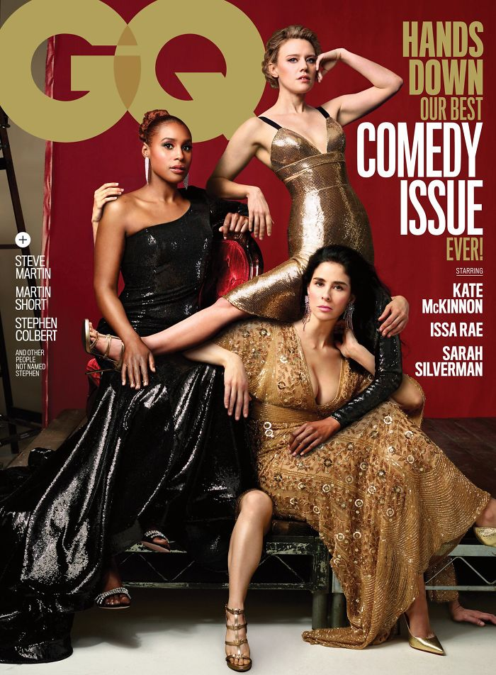GQ Releases Their Comedy Issue, And There's Definitely Something Wrong With The Cover