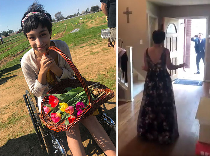 Teen Shocks Her Prom Date By Walking For The First Time In 10 Months, And His Reaction Says It All