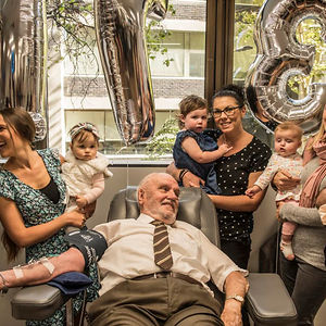 James Harrison Who Has Saved 2.4 Million Babies By Donating Blood Every Week For 60 Years Making His Last Donation. He Had Rare Antibody In His Blood That Helps Protect Babies From Rhesus Disease