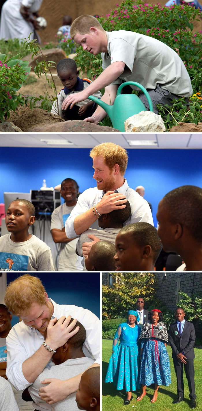 Prince Harry Invited An Orphan That He Met 14 Years Ago In Africa To The Royal Wedding