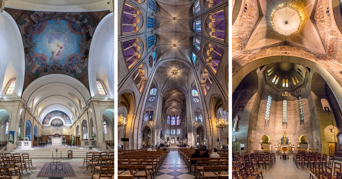 I Found A Unique Way To Photograph The Churches Of Paris