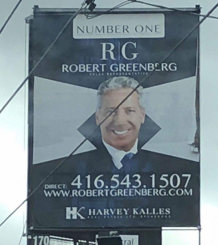 I Pass This Billboard Everyday And Everyday I Think He's A Vampire