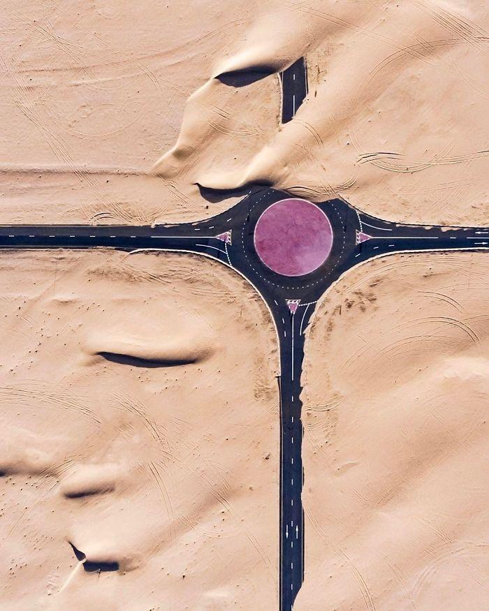 Purple Roundabout (Dubai, United Arab Emirates)