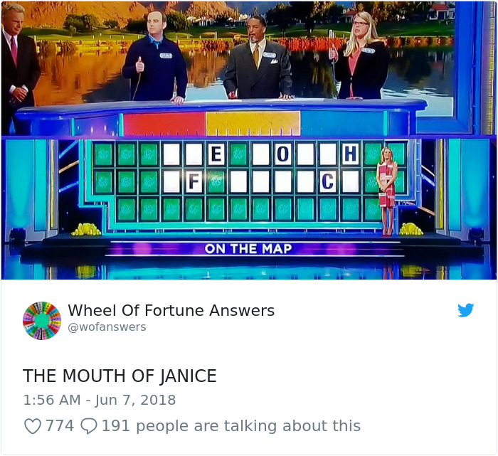 Wheel Of Fortune Funny