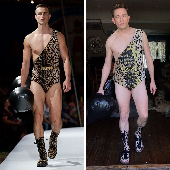 Tom Lenk As Moschino Model