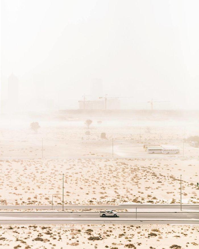 Incoming Sandstorm (Dubai, United Arab Emirates)