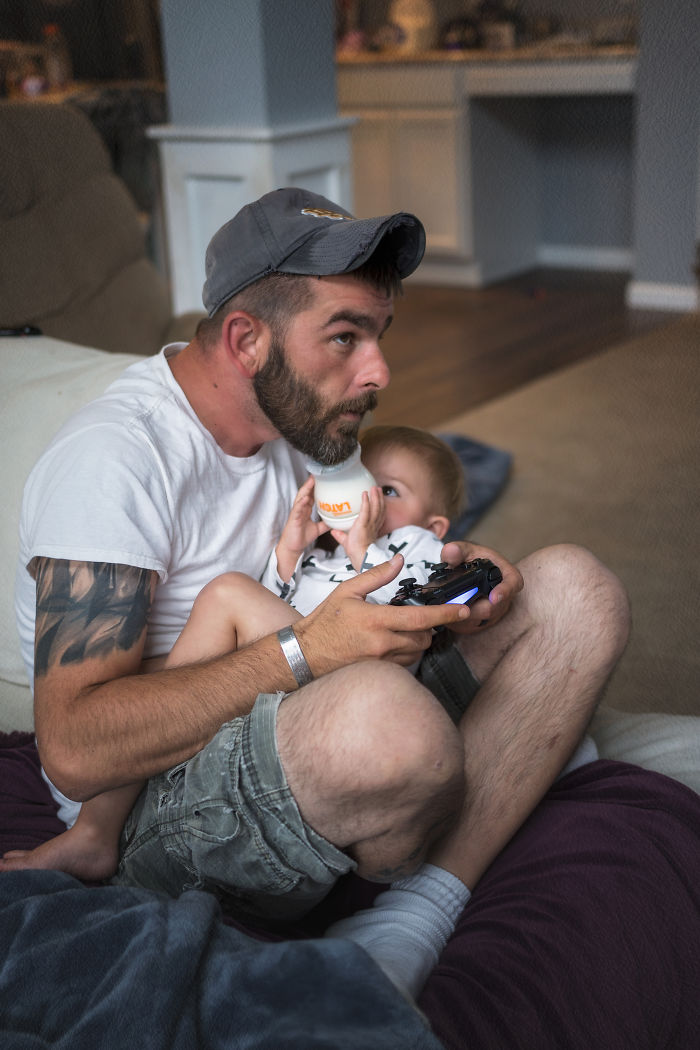 I Created Father's Day Photo Series To Show Different Types Of Dads