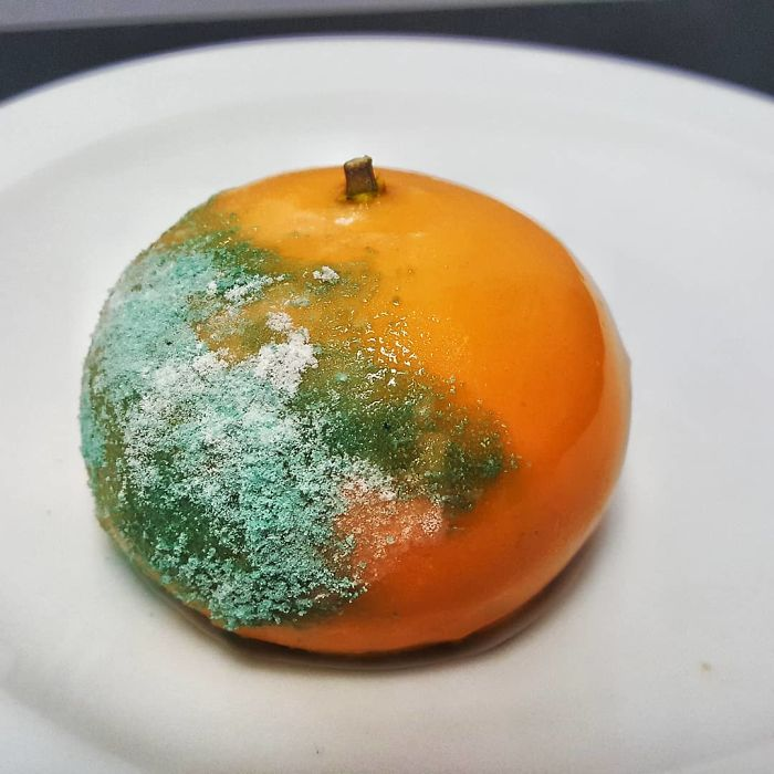 Orange Parfait, Bubblegum Meringue Powder