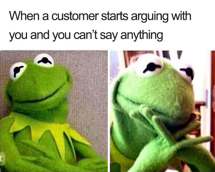 When A Customer Starts Arguing