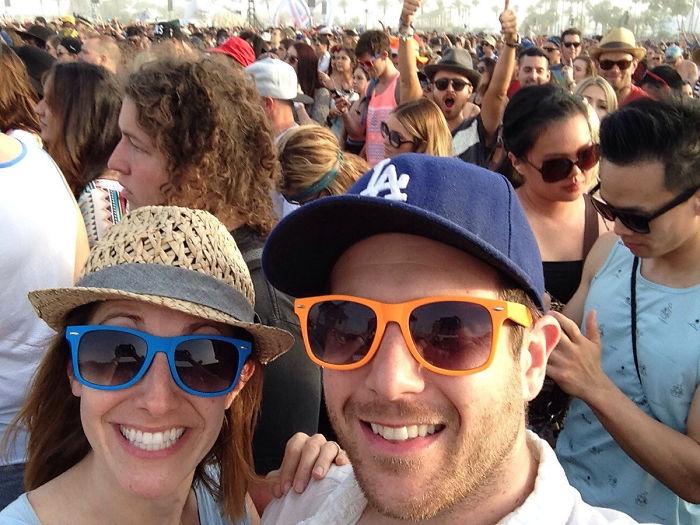 Nos ha hecho photobomb Aaron Paul (Jesse Pinkman en Breaking Bad) en Coachella