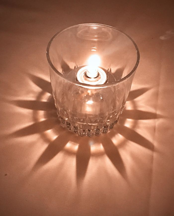The Shadow Cast By This Candle/Glass