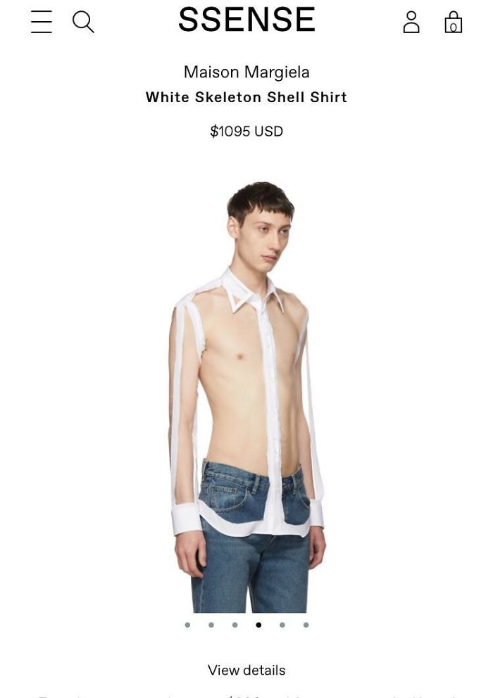 Camisa de diseño