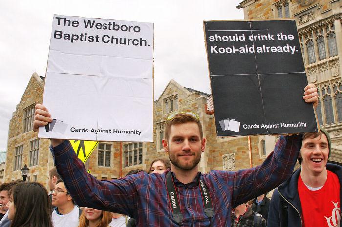 The Westboro Baptist Church Should Drink The Kool-Aid Already