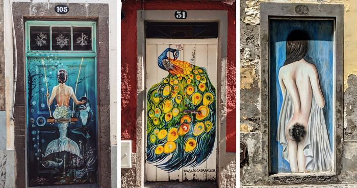 I Photographed The Hidden Beauty Of Doors Of Madeira