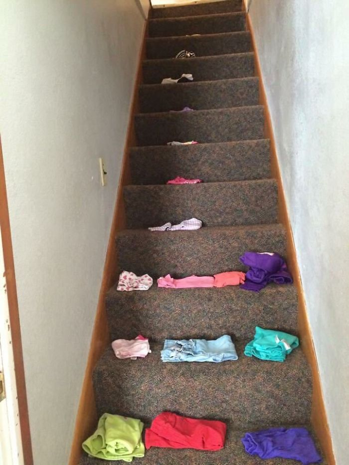 My Sil Asked My Niece To Put Her Clothes Upstairs