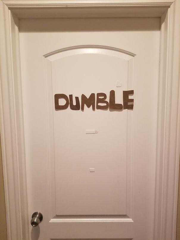 My Niece's Door, Kid Cracks Me Up