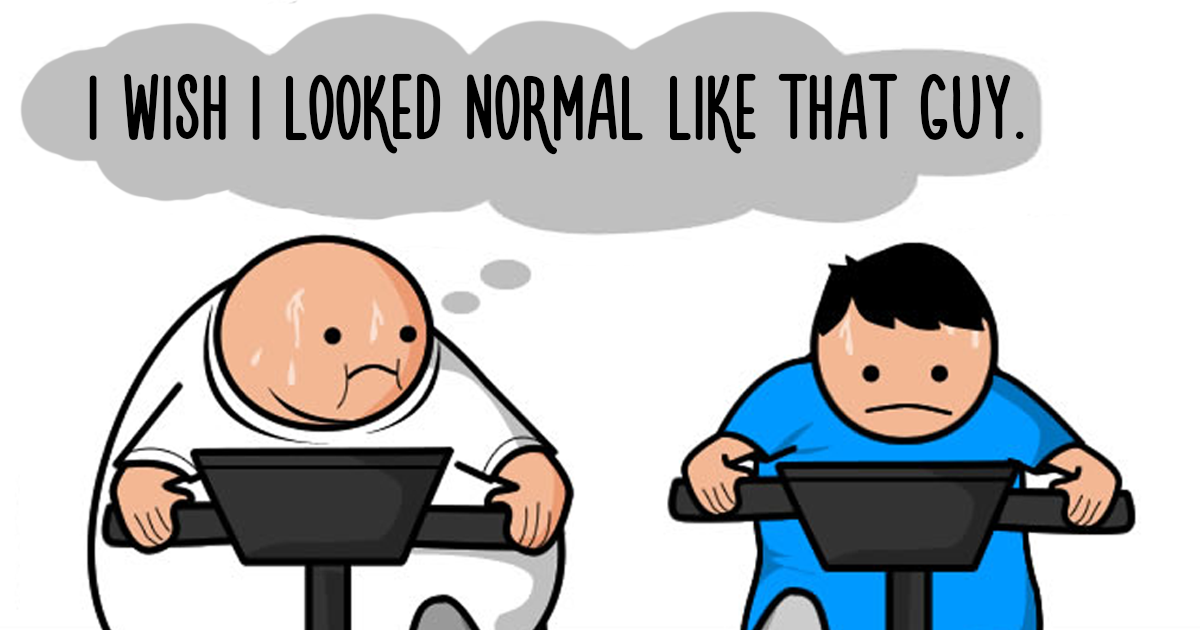 Every Person At The Gym Gets Hilariously Summed Up In 8 Comics, And You Will Relate To The Boobie Girl Too Much