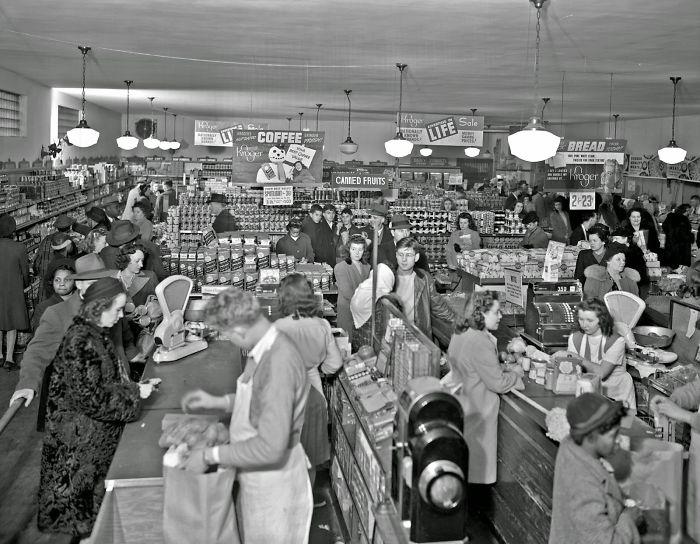 Kroger Grocery Store, Lexington Kentucky, 1947, By Lafayette Studio
