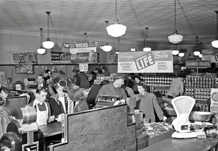 Kroger Grocery Store, Lexington, Kentucky, 1947