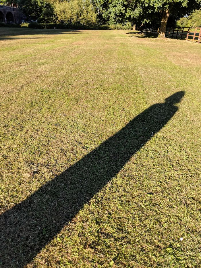 My Girlfriend's Shadow Is Reminiscent Of Darth Vader
