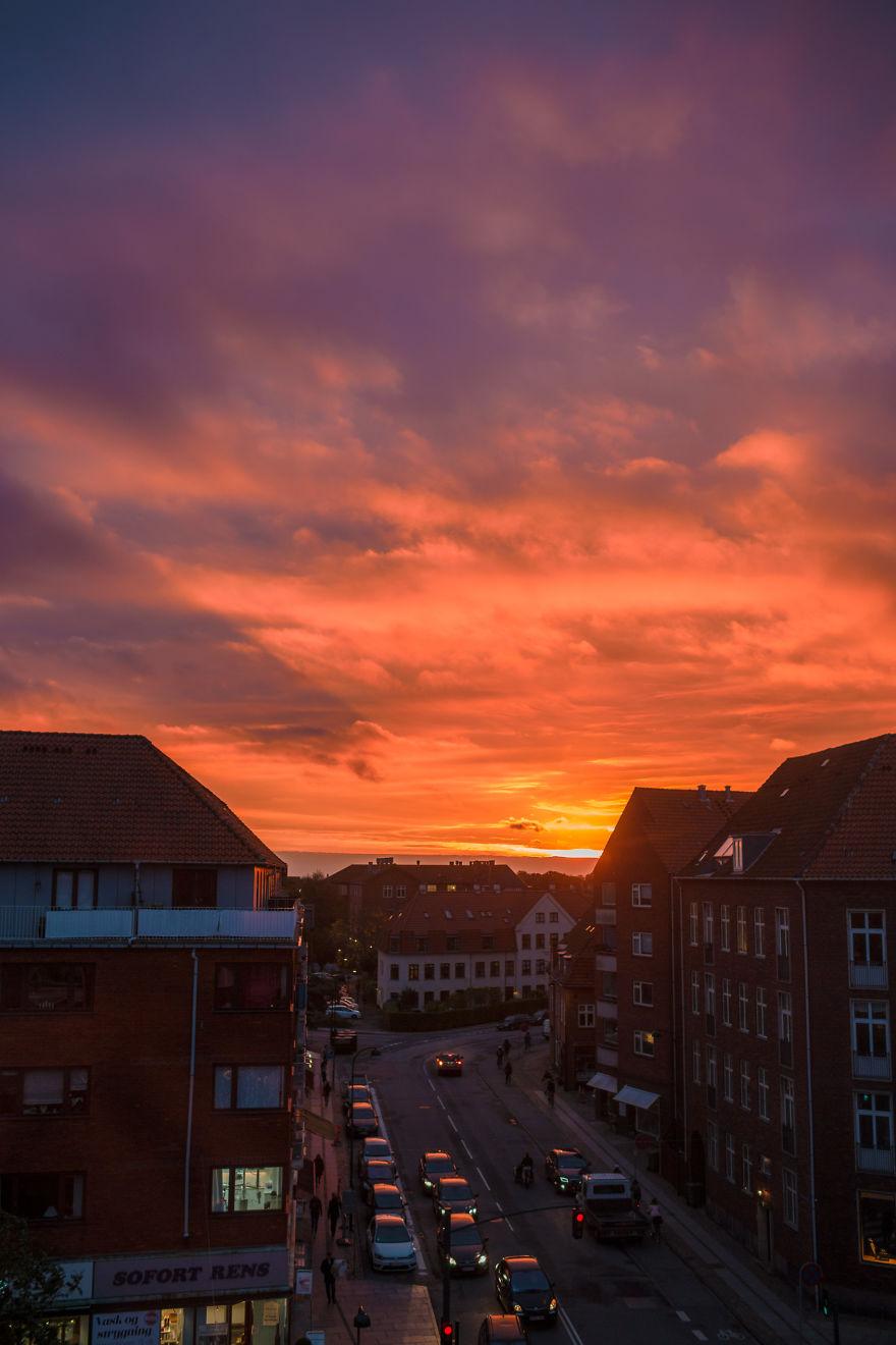 Sunrise Over Gentofte