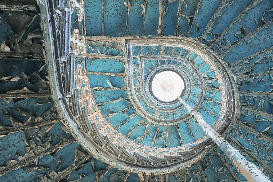 Staircase Turquoise, Poland