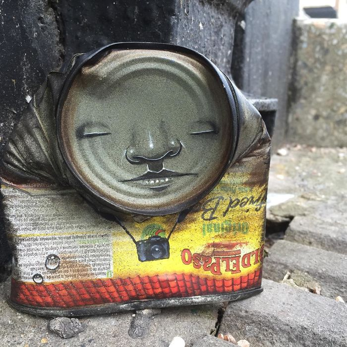 Cans Streets Art