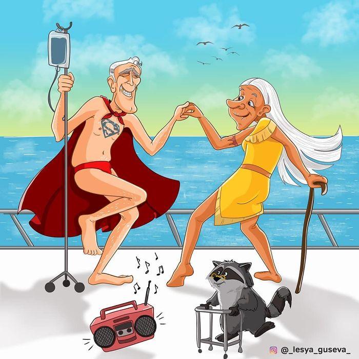 Superman y Pocahontas