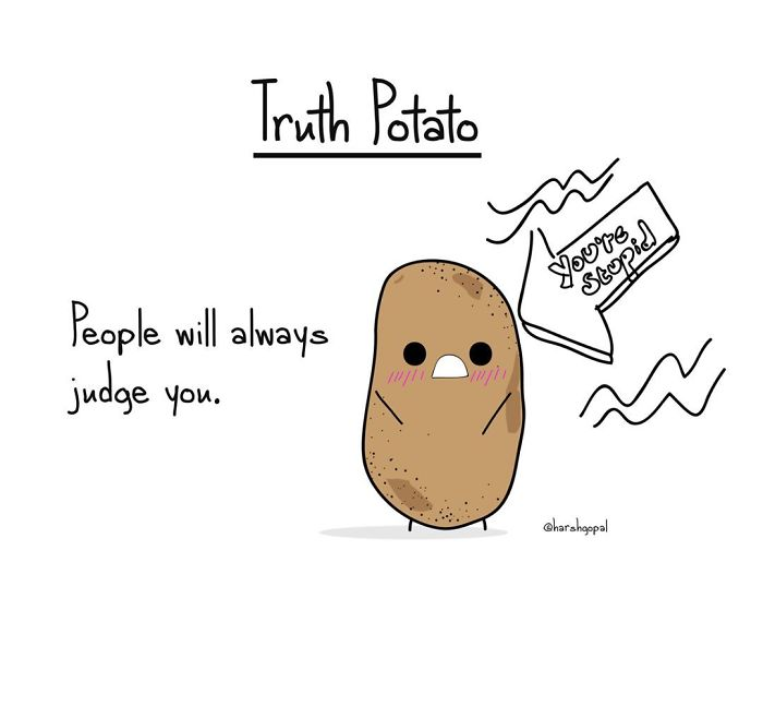 30+ Bitter Truths By Truth Potato That Will Make You Think (New Pics)