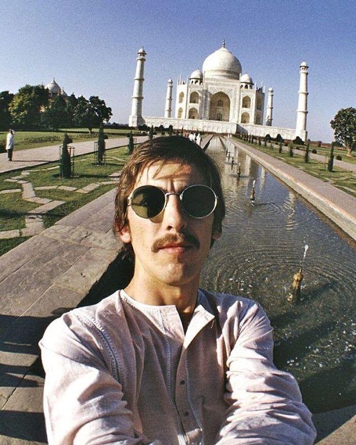 George Harrison, India, 1966